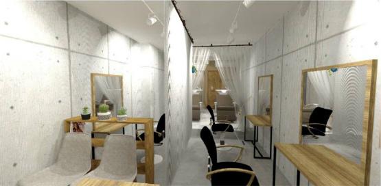 美容室 デザイン 2021年1月25日