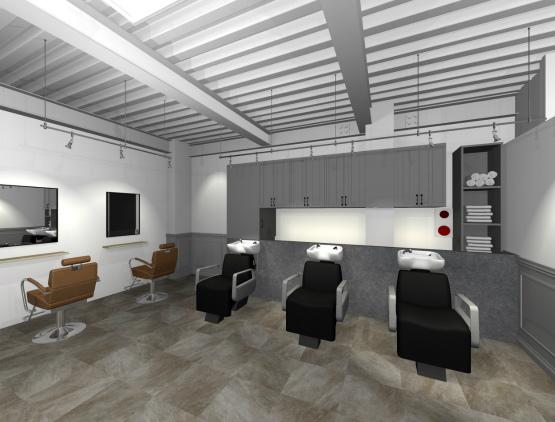 美容室 デザイン3 2021年5月17日
