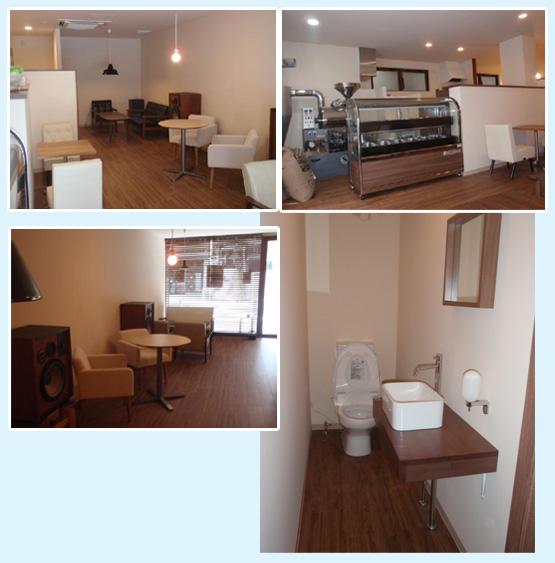 カフェ・ベーカリー・洋菓子店・パン屋 内装工事の施工例4