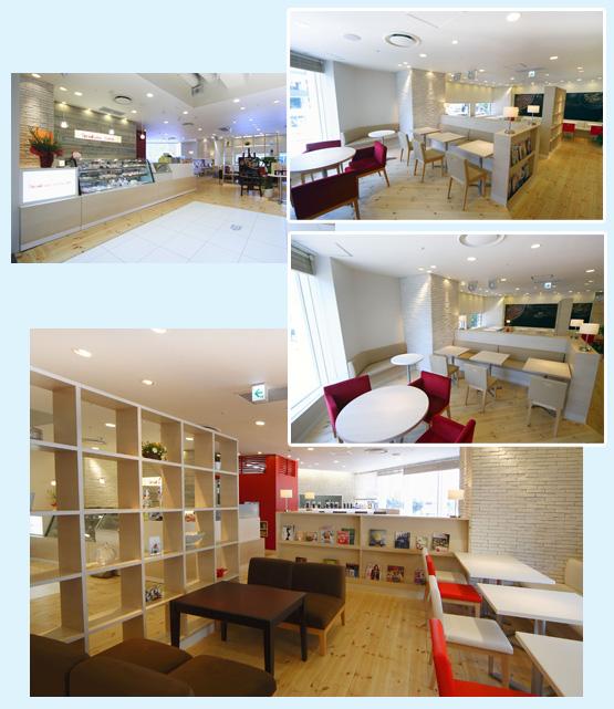 カフェ・ベーカリー・洋菓子店・パン屋 内装工事の施工例9