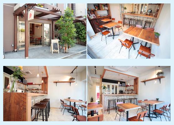 カフェ・喫茶店・パン屋・ケーキ屋 内装デザイン事例74