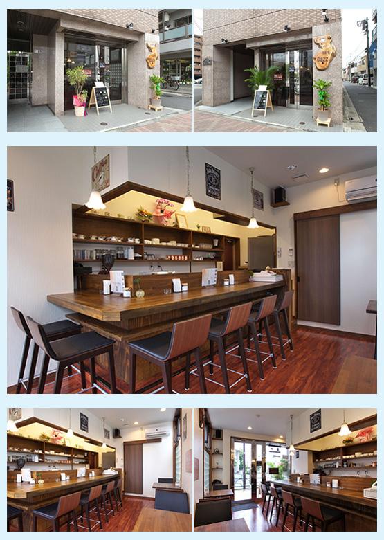 カフェ・喫茶店・パン屋・ケーキ屋 内装デザイン事例35