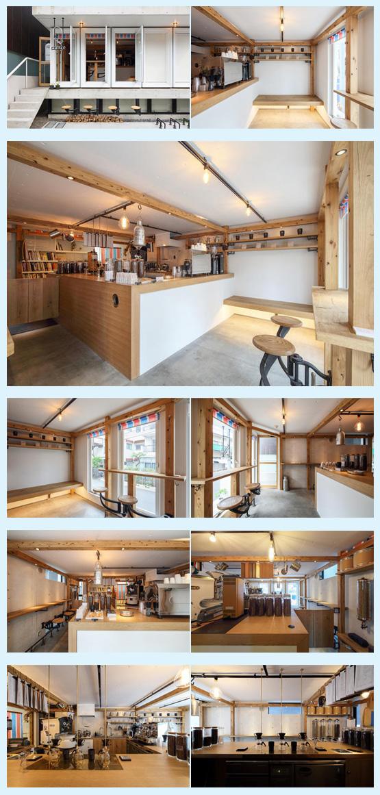 カフェ・喫茶店・パン屋・ケーキ屋 内装デザイン事例2
