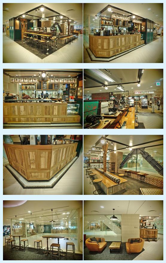 カフェ・喫茶店・パン屋・ケーキ屋 内装デザイン事例45