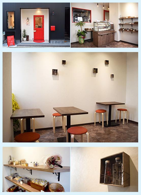カフェ・喫茶店・パン屋・ケーキ屋 内装デザイン事例32