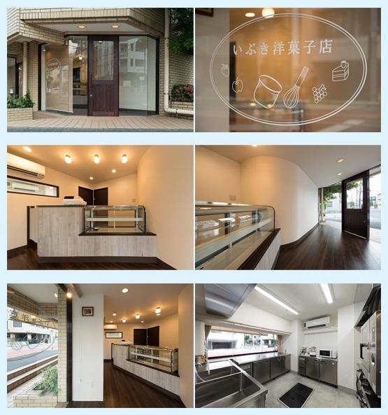 カフェ・喫茶店・パン屋・ケーキ屋 内装デザイン事例59