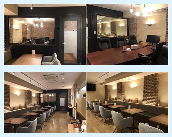 カフェ・喫茶店・パン屋・ケーキ屋 内装デザイン事例75