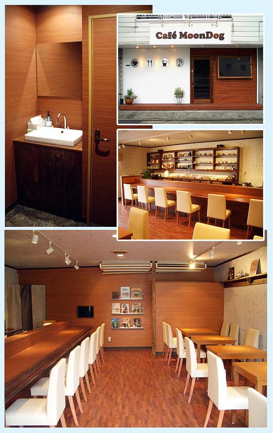 カフェ・ベーカリー・洋菓子店・パン屋 内装工事の施工例1