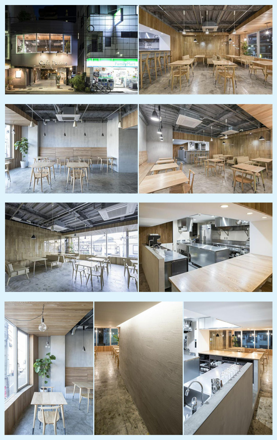 カフェ・喫茶店・パン屋・ケーキ屋 内装デザイン事例23