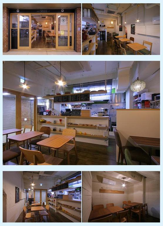 カフェ・喫茶店・パン屋・ケーキ屋 内装デザイン事例38