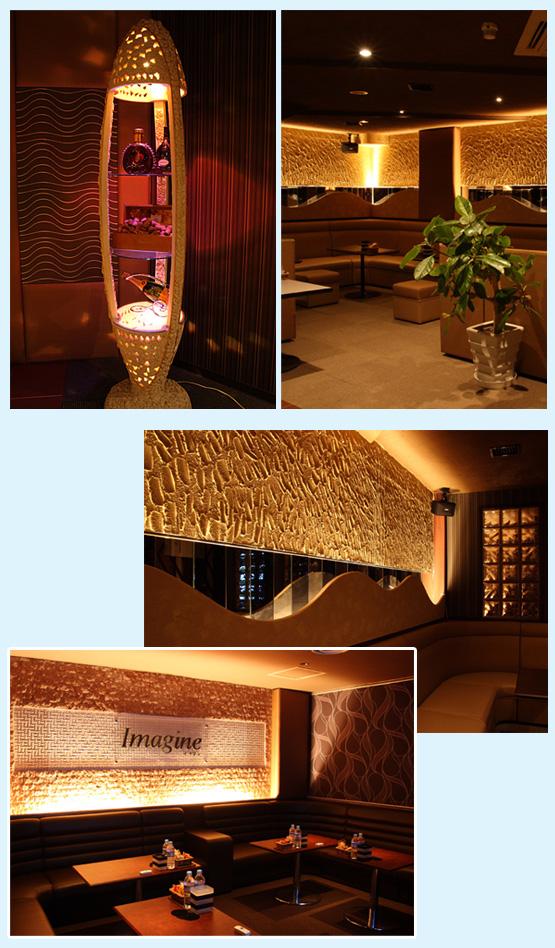 キャバクラ・スナック・クラブ 内装工事の施工例2