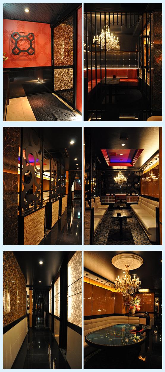 キャバクラ・スナック・クラブ 内装工事の施工例3