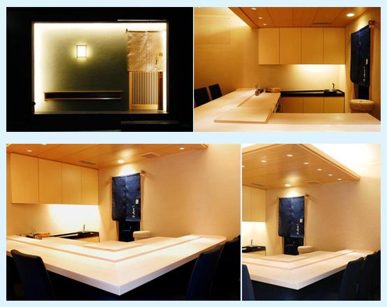 和食・寿司・うどん・そば 内装工事の施工例8
