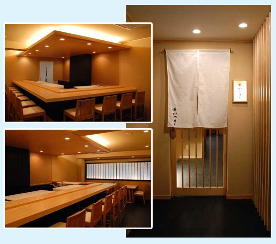 和食店・寿司屋・うどん屋・蕎麦屋 内装デザイン事例49