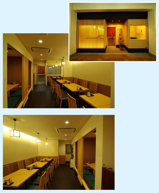 和食・寿司・うどん・そば 内装工事の施工例6
