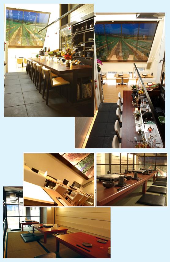 和食店・寿司屋・うどん屋・蕎麦屋 内装デザイン事例42