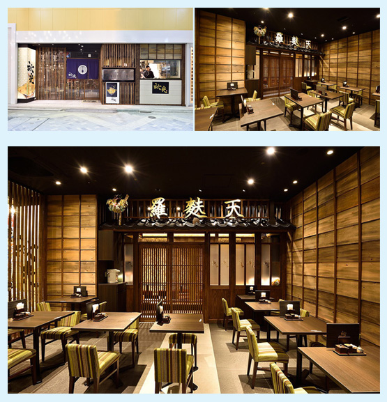和食店・寿司屋・うどん屋・蕎麦屋 内装デザイン事例61