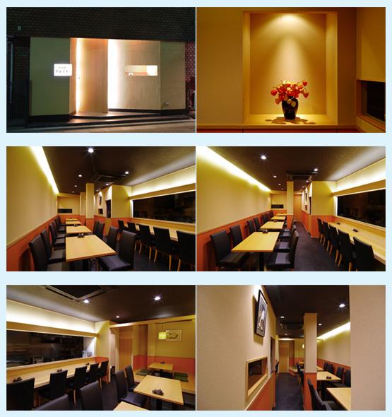 和食店・寿司屋・うどん屋・蕎麦屋 内装デザイン事例25