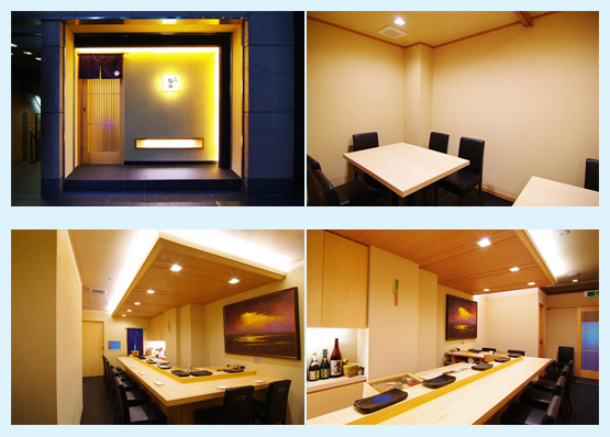 和食店・寿司屋・うどん屋・蕎麦屋 内装デザイン事例67