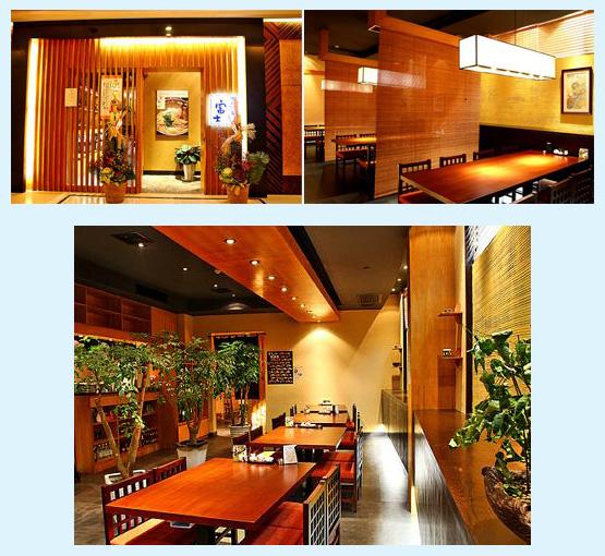 和食店・寿司屋・うどん屋・蕎麦屋 内装デザイン事例64