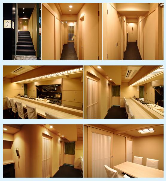 和食店・寿司屋・うどん屋・蕎麦屋 内装デザイン事例24