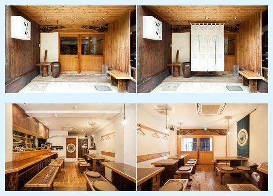 和食店・寿司屋・うどん屋・蕎麦屋 内装デザイン事例68