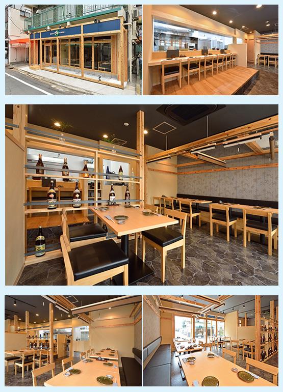 和食店・寿司屋・うどん屋・蕎麦屋 内装デザイン事例46