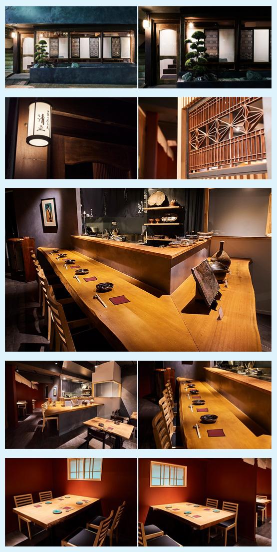 和食店・寿司屋・うどん屋・蕎麦屋 内装デザイン事例1