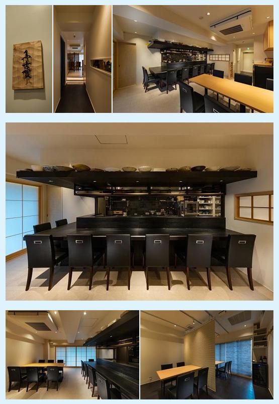 和食店・寿司屋・うどん屋・蕎麦屋 内装デザイン事例6