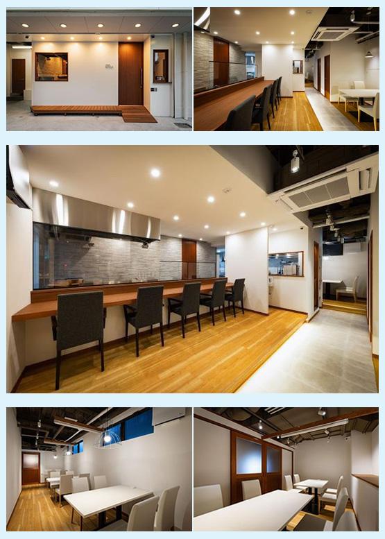 和食店・寿司屋・うどん屋・蕎麦屋 内装デザイン事例7