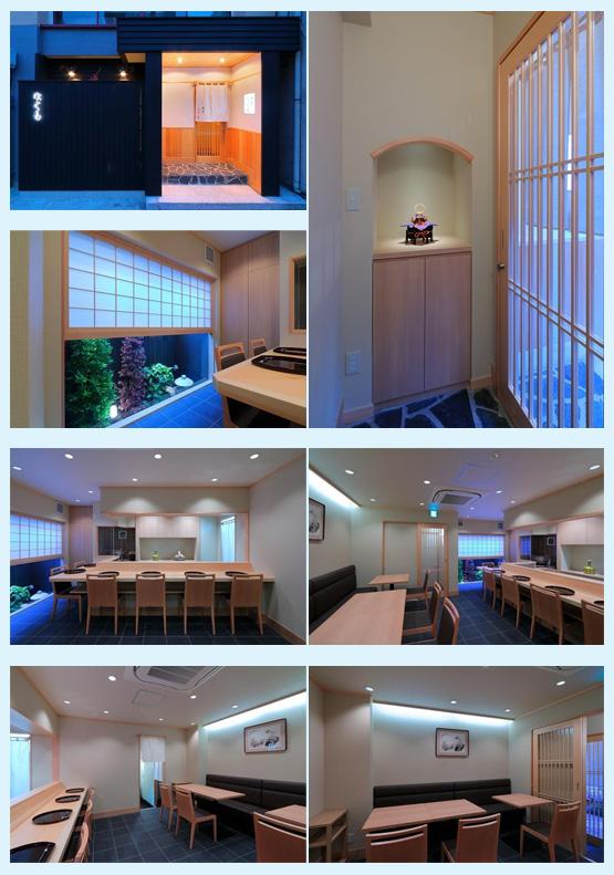 和食店・寿司屋・うどん屋・蕎麦屋 内装デザイン事例34