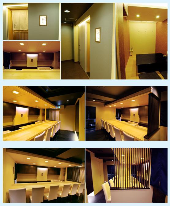 和食店・寿司屋・うどん屋・蕎麦屋 内装デザイン事例26