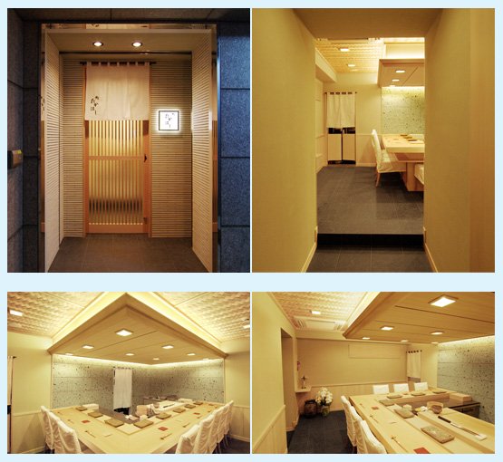 和食店・寿司屋・うどん屋・蕎麦屋 内装デザイン事例47