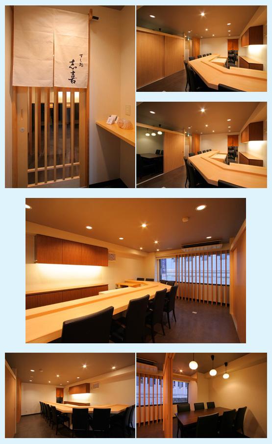 和食店・寿司屋・うどん屋・蕎麦屋 内装デザイン事例32