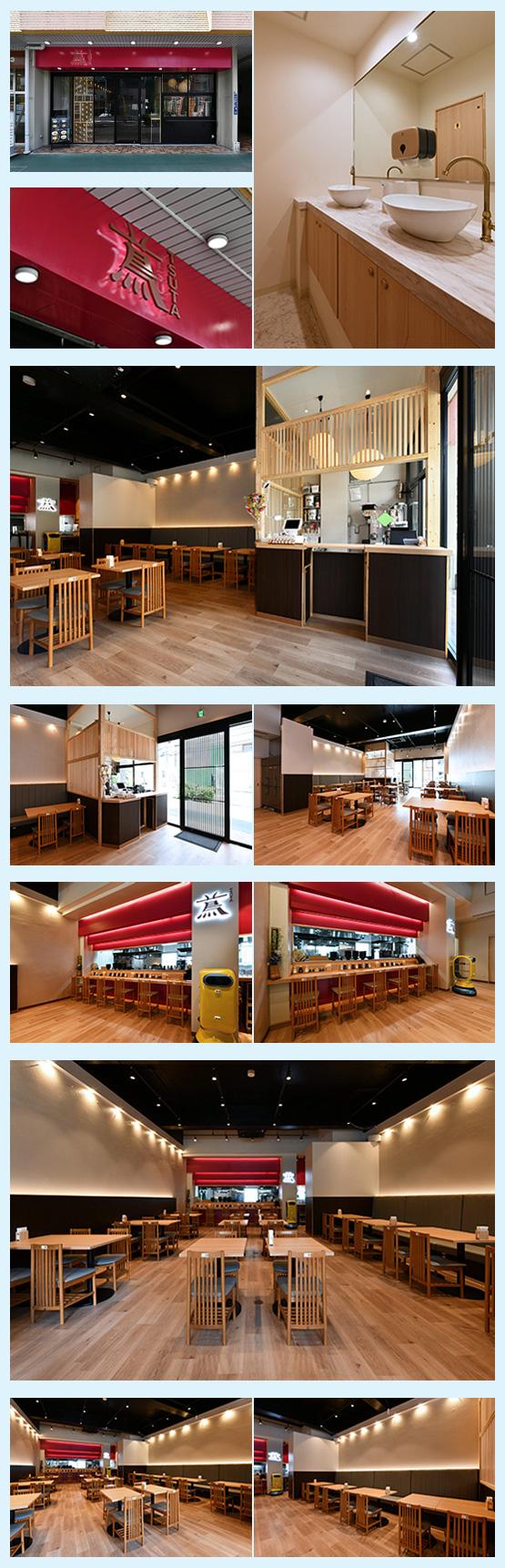 和食店・寿司屋・うどん屋・蕎麦屋 内装デザイン事例4