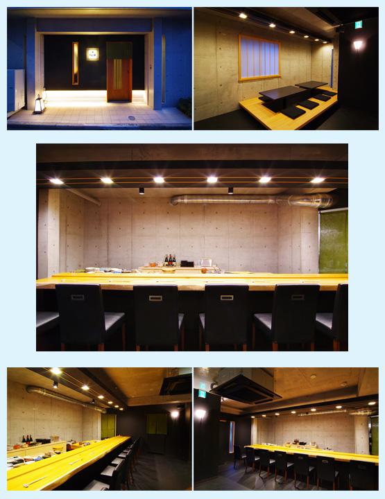 和食・寿司・うどん・蕎麦 内装工事の施工例9