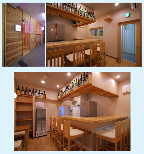 和食店・寿司屋・うどん屋・蕎麦屋 内装デザイン事例54