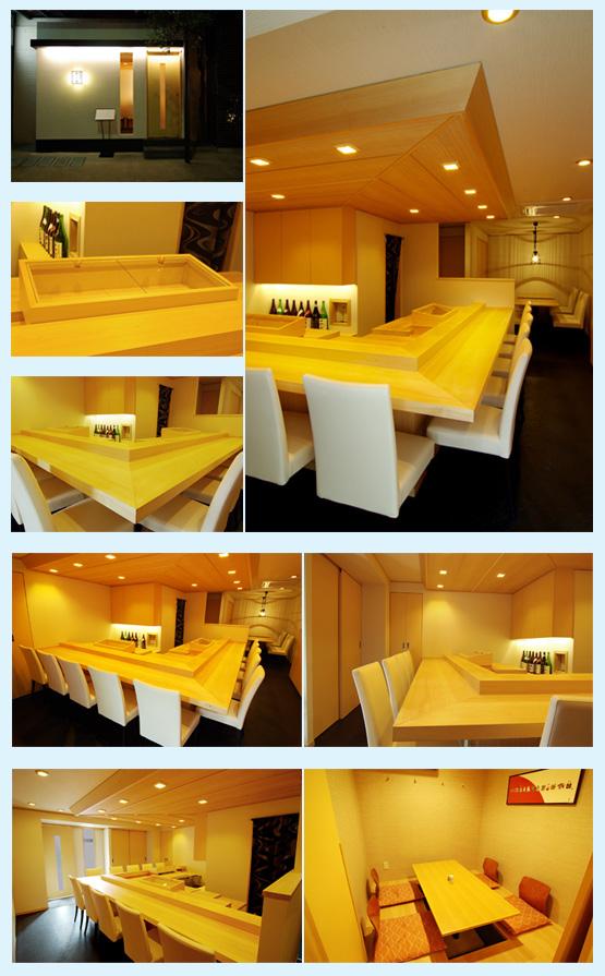 和食店・寿司屋・うどん屋・蕎麦屋 内装デザイン事例41