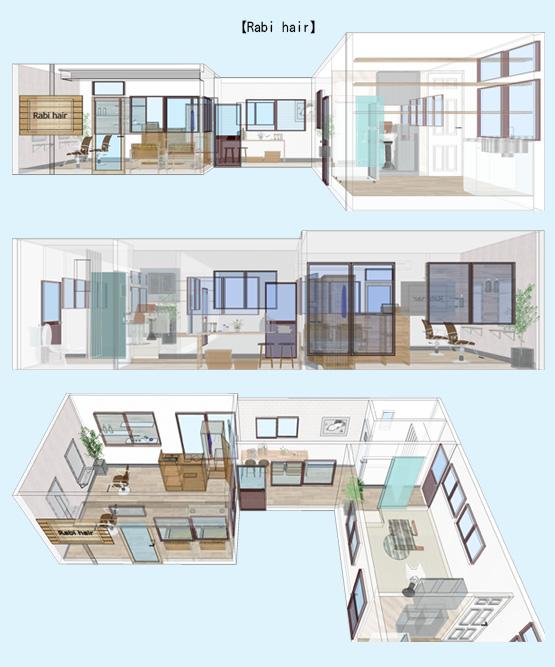 店舗デザイン イメージ画像・パース事例56