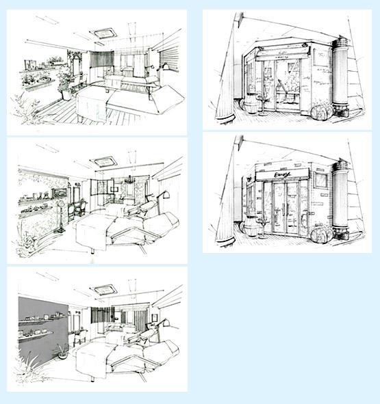店舗デザイン イメージ画像・パース事例47