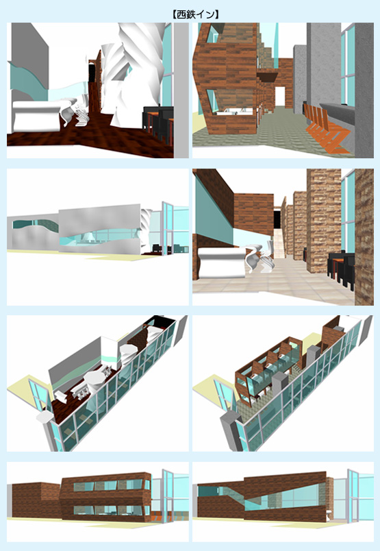 店舗デザイン イメージ画像・パース事例27