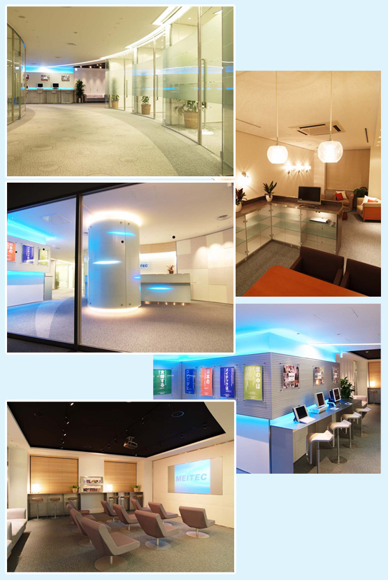 オフィス・事務所・学習塾 内装工事の施工例1
