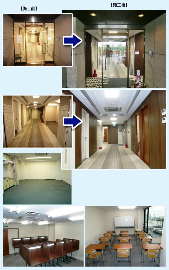 オフィス・事務所・学習塾 内装工事の施工例4