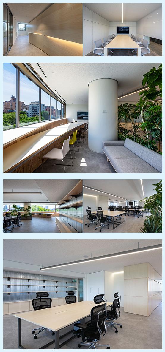 オフィス・ホテル・スクール・ジム 内装デザイン事例15