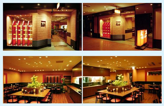 ラーメン・中華料理 内装工事の施工例2
