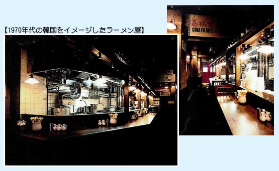 ラーメン・中華料理 内装工事の施工例10
