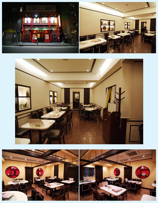 ラーメン・中華料理 内装工事の施工例4