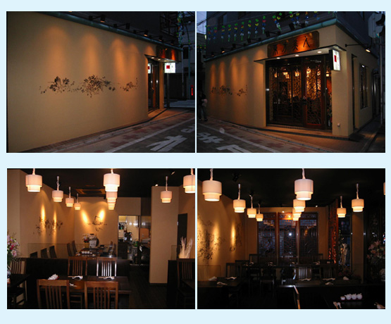 ラーメン・中華料理 内装工事の施工例8