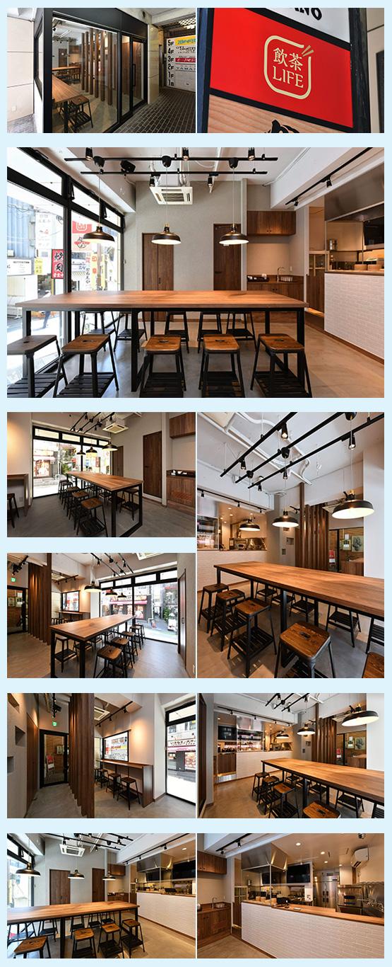 ラーメン屋・中華料理店 内装デザイン事例9