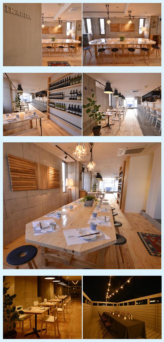 レストラン・イタリアン・フレンチ 内装デザイン事例6